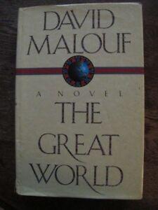 The-Great-World-David-Malouf-SIGNED-Aust-Military-Gallipoli-Hardback-Dj