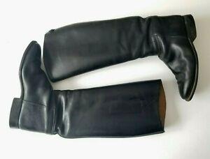 Cavallo-Black-Tall-Dressage-Riding-Boots-Women-039-s-5-5-Women-039-s-US-8-5-FLAW