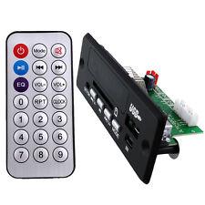 New Black Remote Control USB SD FM MP3 Audio Player Module DC5V-12V DIY