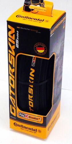 Continental Gatorskin Bicycle Tire 700x25 Folding 700c 25mm Black Ultra New