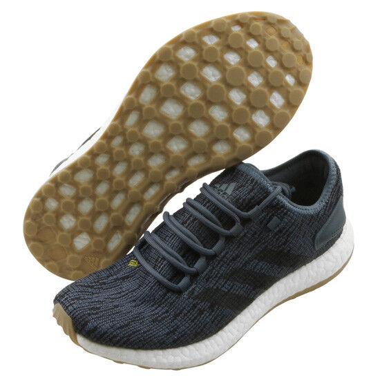 Adidas Pureboost Para hombres Zapatos para Correr gris Azul Entrenamiento Gimnasio Caminar Boost CM8298
