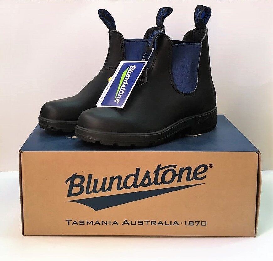 azulndstone azulndstone azulndstone 515 bota STIVALETTI AUSTRALIANI Neri con elastrico azul negro NERI 5eb39b
