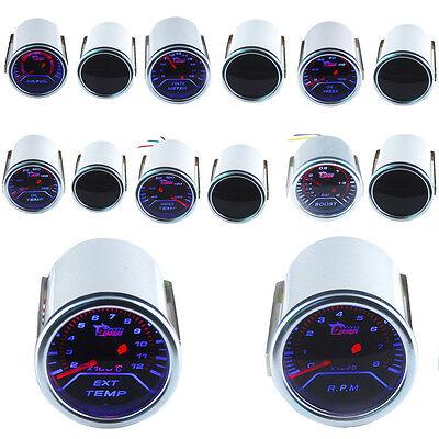 """2"""" 52mm Boost Vacuum Water Oil Temp Press Volt Tacho EGT Air/Fuel Ratio Gauge W8"""