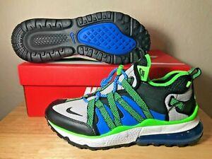 4383d6b5b108 Nike Air Max 270 Bowfin Running Shoes SZ Black Phantom Photo Blue ...