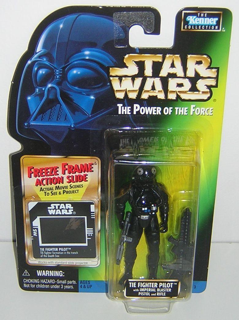 Star Wars POTF2 Freeze Frame FF Tie Fighter Pilot