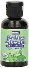 Now Foods Organic Better Stevia Liquid Sweetener - 2 fl oz (60 ml)
