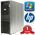 HP Workstation Z600 Xeon X5650 Hex Core 2.66GHz 6-Cores 24GB DDR3 RAM 1TB HDD