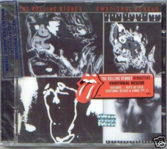 THE ROLLING STONES EMOTIONAL RESCUE SEALED CD NEW