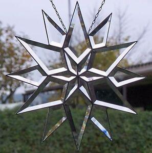 Bleiverglasung-Fensterbild-Facetten-Weihnachtsstern-34-cm-in-Tiffany