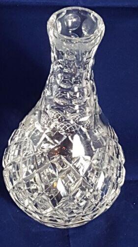 Beautiful Heavy Tutbury Crystal Vase Weight 1.132 Kg