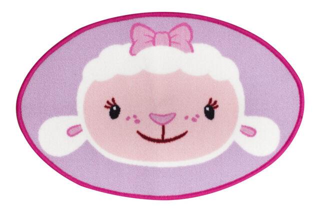 Doc Mcstuffins Lambie Teppich Disney Im Ovalenform 50x75 cm Mädchen Schlafzimmer