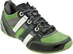 TSUBO-034-Tycho-034-Men-039-s-Sneaker-Shoes-Cuir-Green-US-9-UK-8-EUR-42-rrp-149