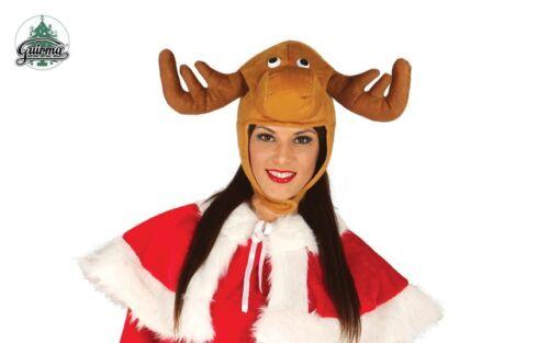 Novelty Reindeer Hat For Adults