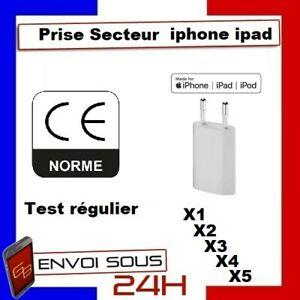 PRISE-CHARGEUR-IPHONE-SECTEUR-MURAL-5-6-6S-6-PLUS-SE-7-PLUS-8-X-XS-XR-11