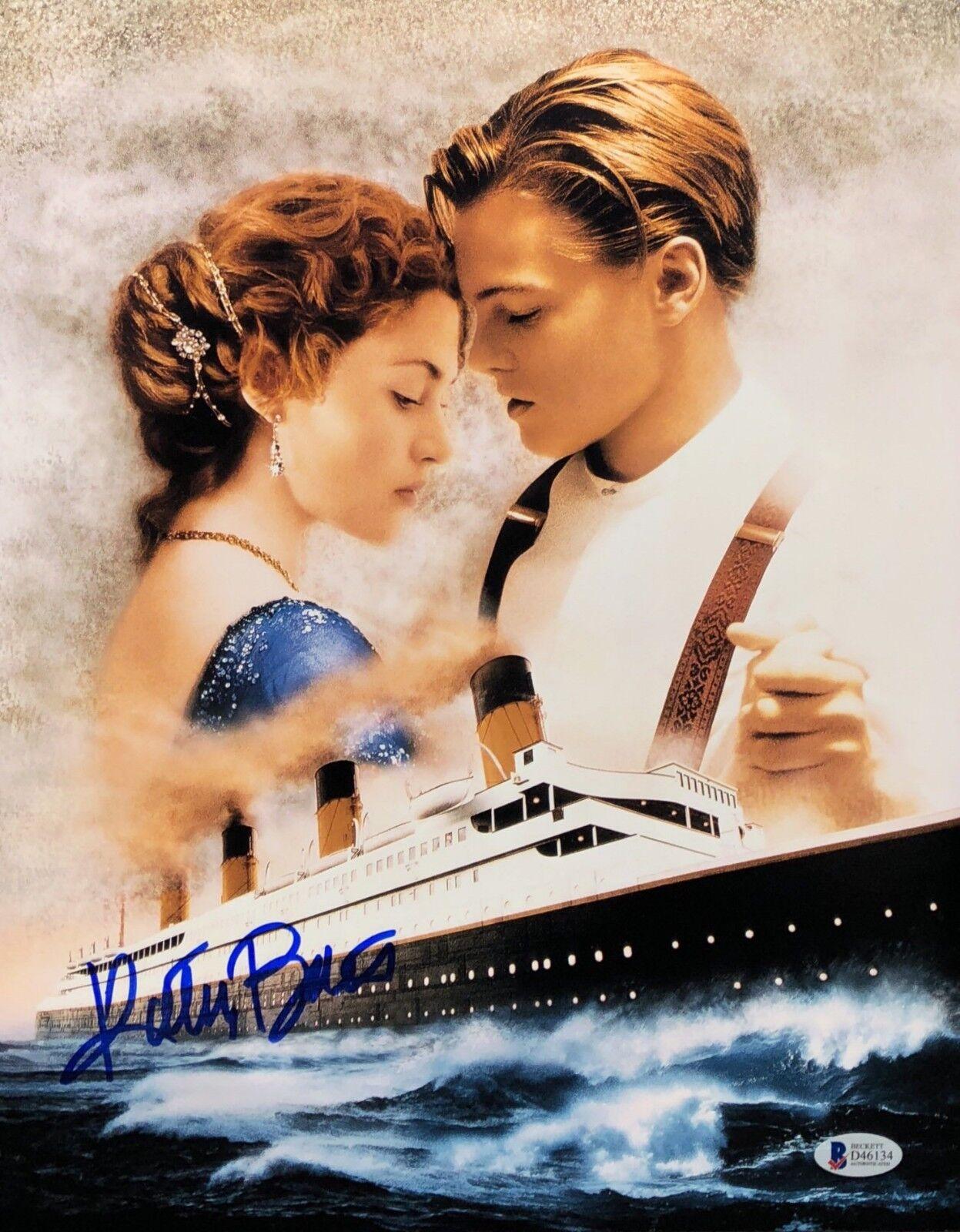Kathy Bates Signed 'Titanic' 11x14 Photo BAS Beckett D46134