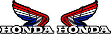 "Honda 85 qr50 Gas Tank Decals Graphics   (4"" Long x 3"" High)"