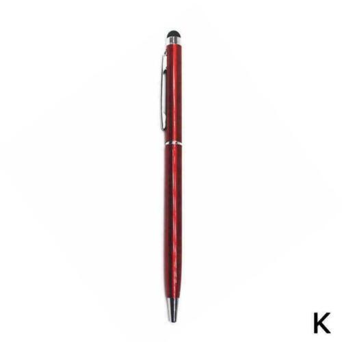 Metallkugelschreiber 1 mm schwarzer Tintengelstift Büro Schreibwaren L8A7 L7A4
