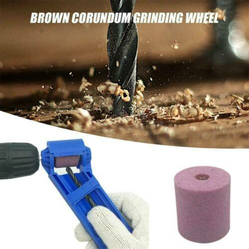 Corundum Grinding Wheel Drill Bit Sharpener Titanium Portable Drill Power Tools~