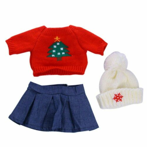 Cute Doll Clothes Underwear Pants Pajama Dress For 18 inch Girl Toy W2P9