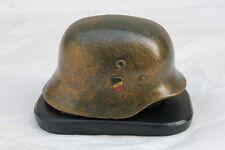 Casque Allemand WW2 - Presse Papier sur socle   ( Hauteur : 6 cm )