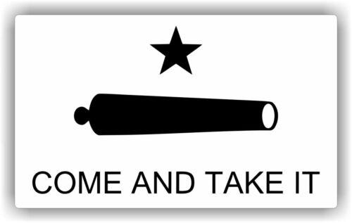 Texas Come take it  Vinyl Decal Bumper Sticker High Quality Texas USA Truck