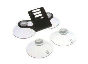 Windshield-Bracket-w-4-Suction-Cups-For-Escort-Passport-Radar-Detectors
