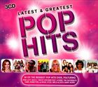 Latest & Greatest Pop Hits [2012] [Box] by Various Artists (CD, Mar-2012, 3 Discs, USM Media)
