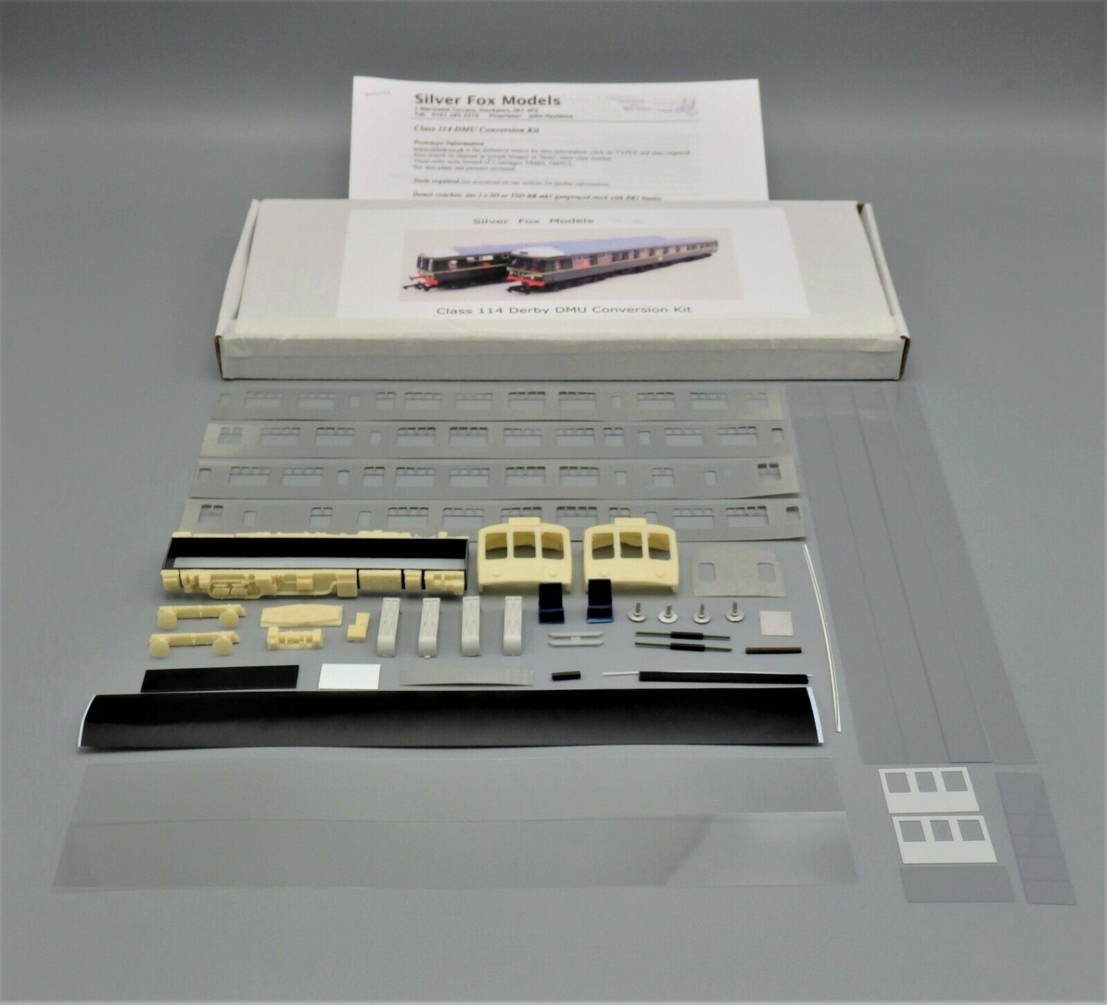 argento Fox BR Derby classe 114 DMU Conversion Kit