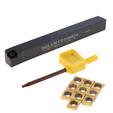 Sclcr1010h06 Lathe Turning Tool Holder Boring Bar 10pcs Ccmt0602 Inserts Us