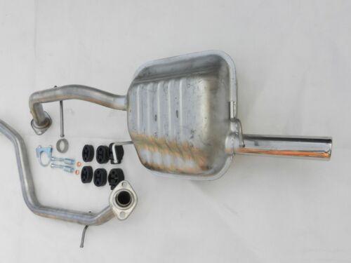 Auspuff Auspuffanlage Endschalldämpfer ab KAT für Mazda 5 CR19 1,8 2,0 ab 2005