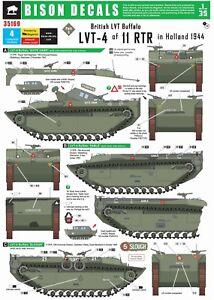 Bison-Decals-1-35-British-LVT-4-Buffalo-2-11th-RTR-35169