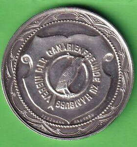 Hamburg-Vogelzucht-versilberte-Medaille-1905-Bergmann-Hamburg-Verein-der
