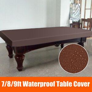 7-8-9-FT-Pool-Snooker-Billiard-Table-Cover-Fitted-Heavy-Duty-Waterproof-Dust
