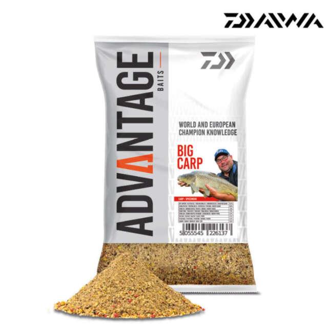 Daiwa Advantage Baits Groundbait Big Carp 1kg Grundfutter Anlockfutter