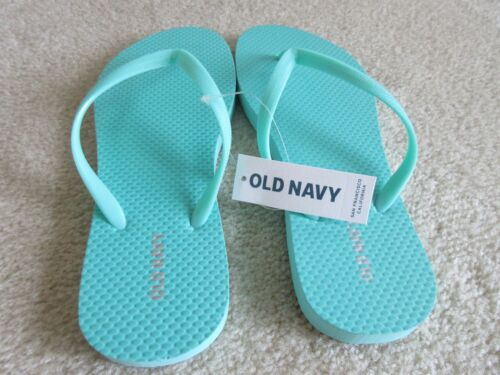 Sizes 7 And 8 Old Navy Aqua Flip Flop Summer Beach Wear