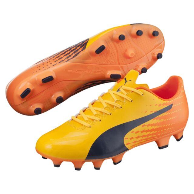 PUMA evoSPEED 17.4 FG Men's Football Boots Uomo Scarpe Calcio Nuovo
