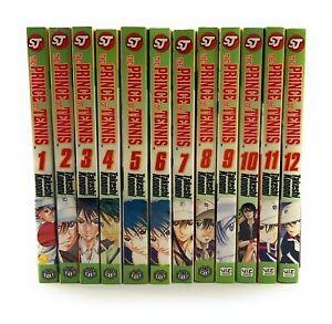 The-Prince-of-Tennis-Vol-1-12-English-Manga-Graphic-Novels-Set-Takeshi-Konom