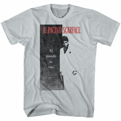 SCARFACE TONY MONTANA  T-Shirt  camiseta cotton officially licensed