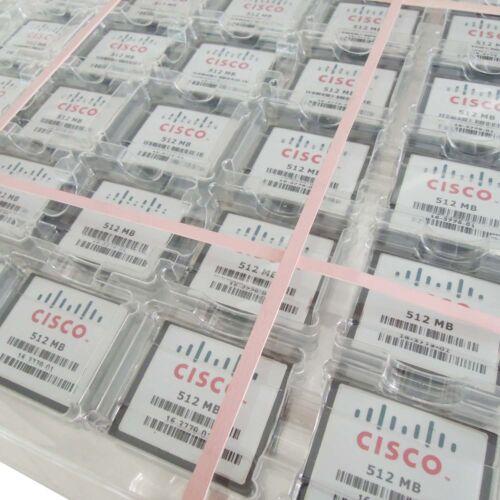 50 X 512 Mb Cisco Compactflash Cf Tarjeta De Memoria Original W//cases para industrial