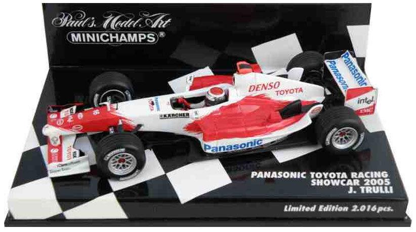 gli ultimi modelli Minichamps giocattoloOTA f1 mostrareauto 2005-JARNO TRULLI SCALA 1 43 43 43  design unico
