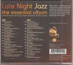 LATE-NIGHT-JAZZ-The-Essential-Album-2003-UK-26-track-2xCD-album-FREE-UK-P-P