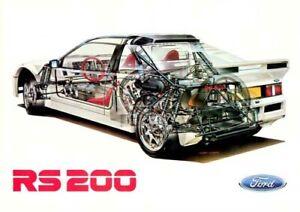 A3 Honda NSX Cutaway Drawing Wall Poster Art Picture Print