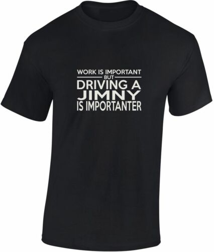 Driving a Jimny is importanter Hoodie New Funny Gift off road 4x4