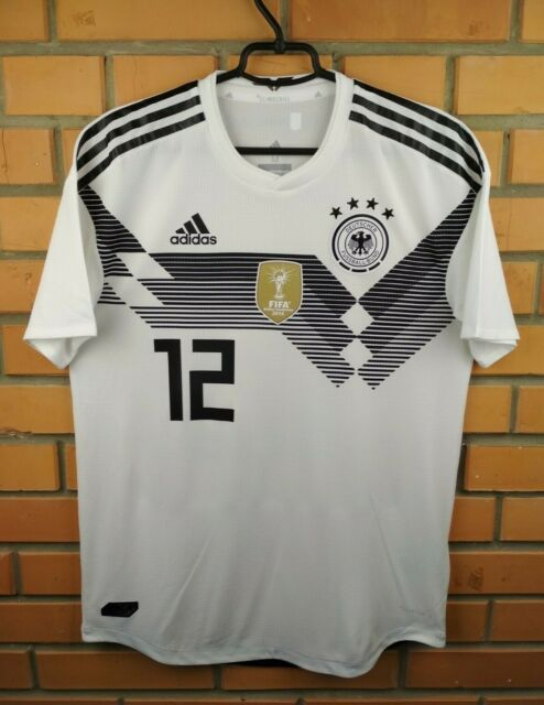 Germany Authentic Jersey 2018 2019 Climachill MEDIUM Shirt BR7313 Soccer Adidas