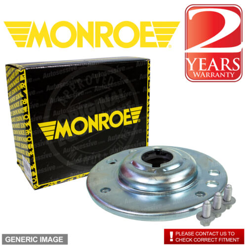Monroe Front Right Left Shock Absorber Mounting Kit x1 VW SHARAN 2.8 2001-2003
