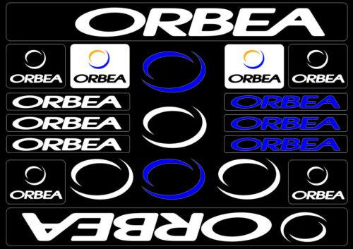 Orbea Bicycle Bike Frame Decals Sticker Adhesive Graphic Vinyl Aufkleber White