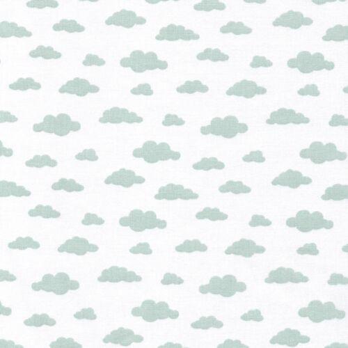Todos los nuevos pastel en la nube de tela 100/% Algodón Patchwork Confección Niños Quilting
