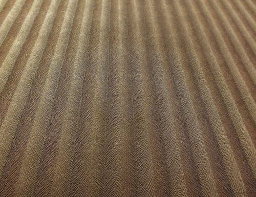 Paste the Wall Stripe Effect ***Solid Vinyl Brown Wallpaper by Casadeco***
