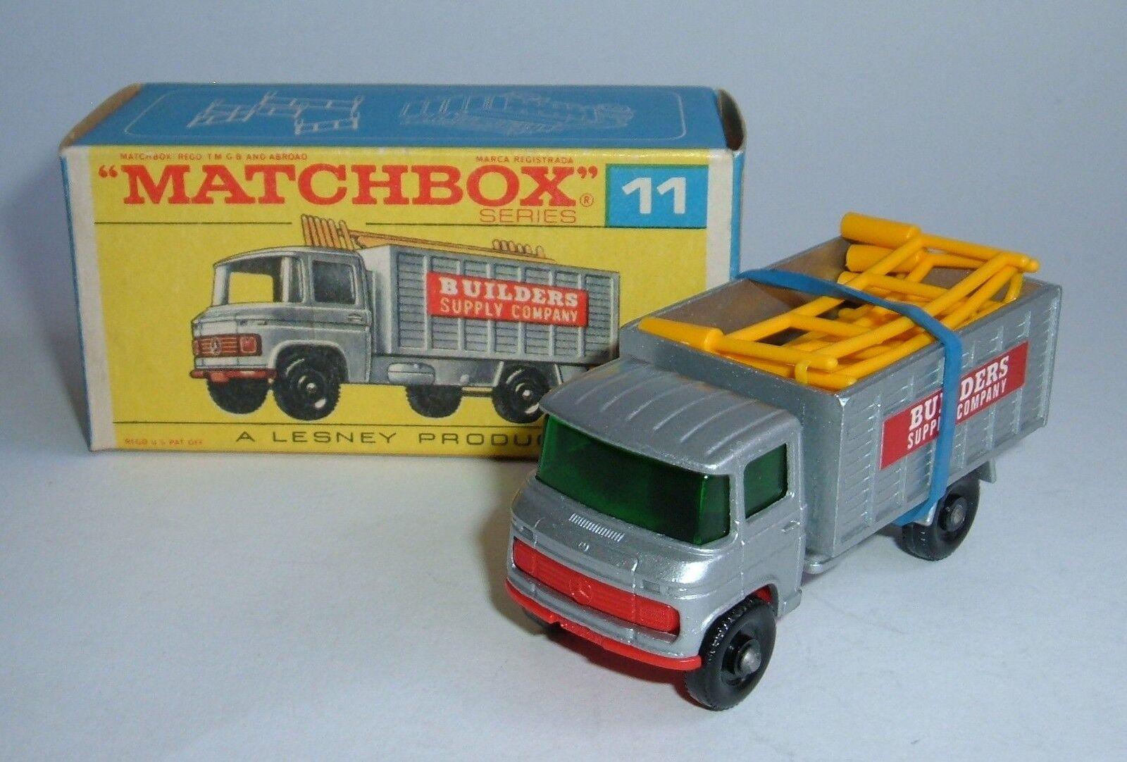 compras de moda online Matchbox Series Nº 11, andamios Camión, Camión, Camión, - Excelente Como Nuevo.  mejor calidad mejor precio