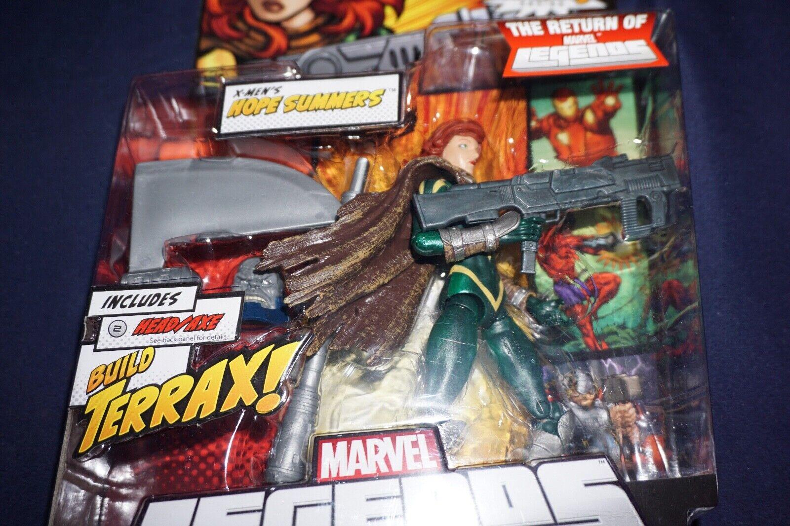 MARVEL LEGENDS X-MEN'S HOPE SUMMERS TERRAX SERIES  6 INCH ACTION FIGURE 2011